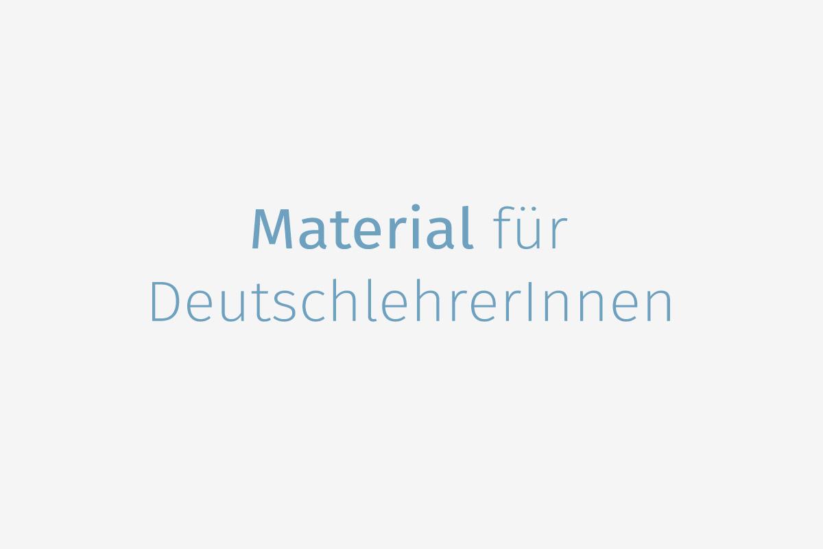 Links] Materialsammlung für DeutschlehrerInnen - DaF für Flüchtlinge ...