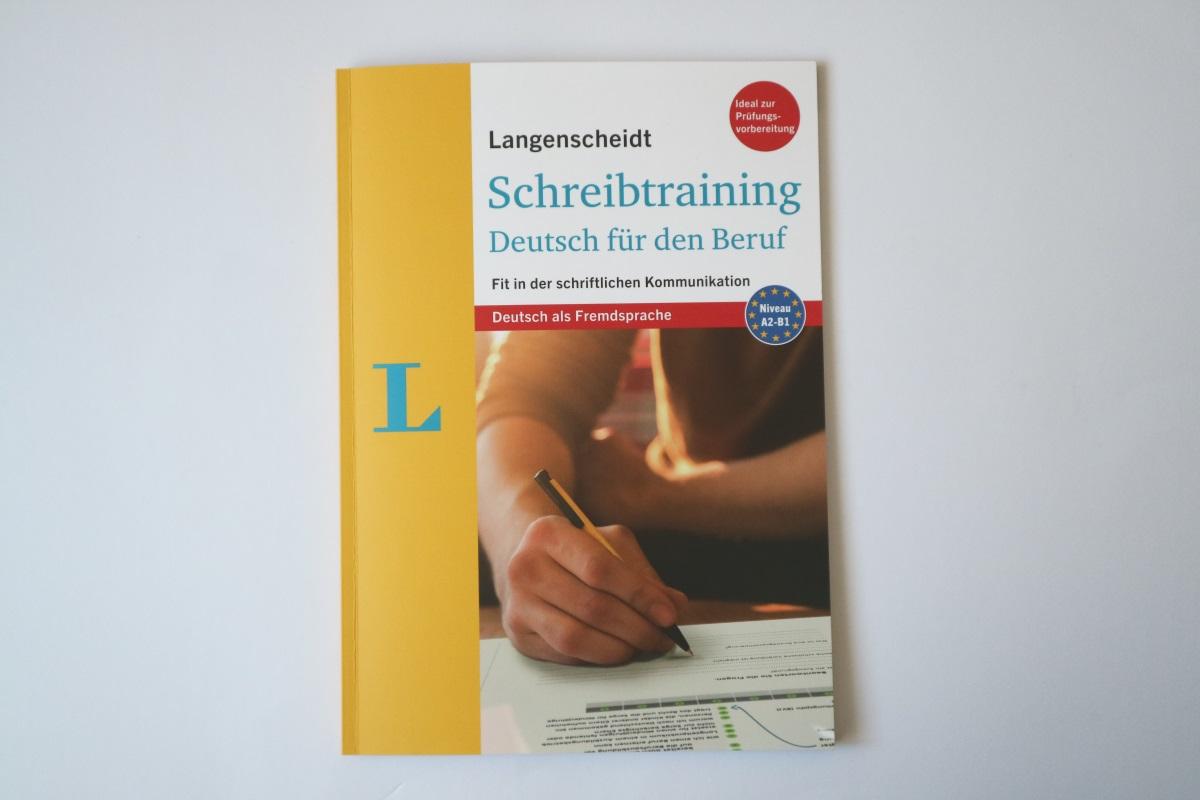 Rezension Schreibtraining Deutsch Für Den Beruf Langenscheidt